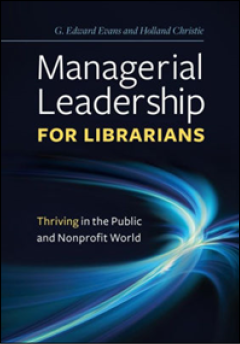 Book cover for Managerial Leadership for Librarians