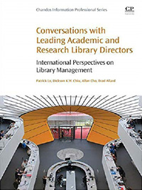 Book cover for Conversation with Leading Academic and Research Library Directors